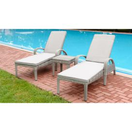 Exterio Valencia Premium set grey-wash