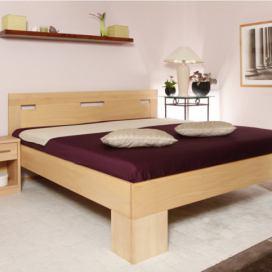 dc7635c1aeda Masivní postel s úložným prostorem…
