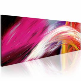 Obraz na plátně Bimago - Wave of optimism 120x40 cm, GLIX DECO s.r.o.