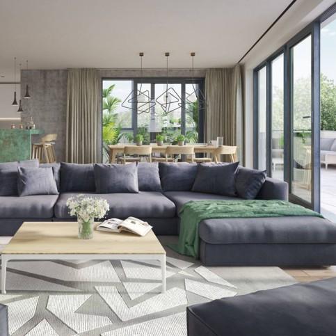 Moderní obývací pokoje 8c952ab090