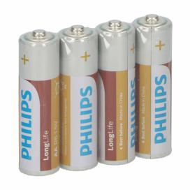 Baterie Philips AA, 4 ks
