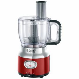 Russell Hobbs 25180-56 Retro Food Processor Red