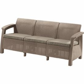 Allibert CORFU LOVE SEAT MAX - cappuchino