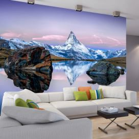 Bimago Fototapeta - Lonely Mountain 350x245 cm