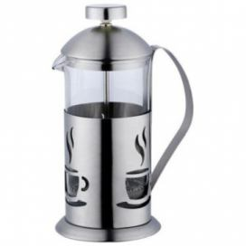 RENBERG Konvička na čaj a kávu nerez French Press 350 ml