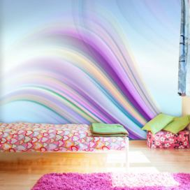Bimago Fototapeta - Rainbow abstract background 300x231 cm