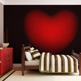Bimago Fototapeta - Shape of my heart 200x154 cm