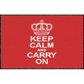 Hanse Home Collection koberce Rohožka | Keep calm | 40x60cm MK101663