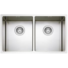 Sinks nerezový dřez BOX 755 DUO RO