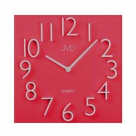 3f5b6890b Designové nástěnné hodiny JVD HB27 červené
