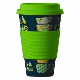 AREON Bamboo Cup 400ml - Time for Tea green