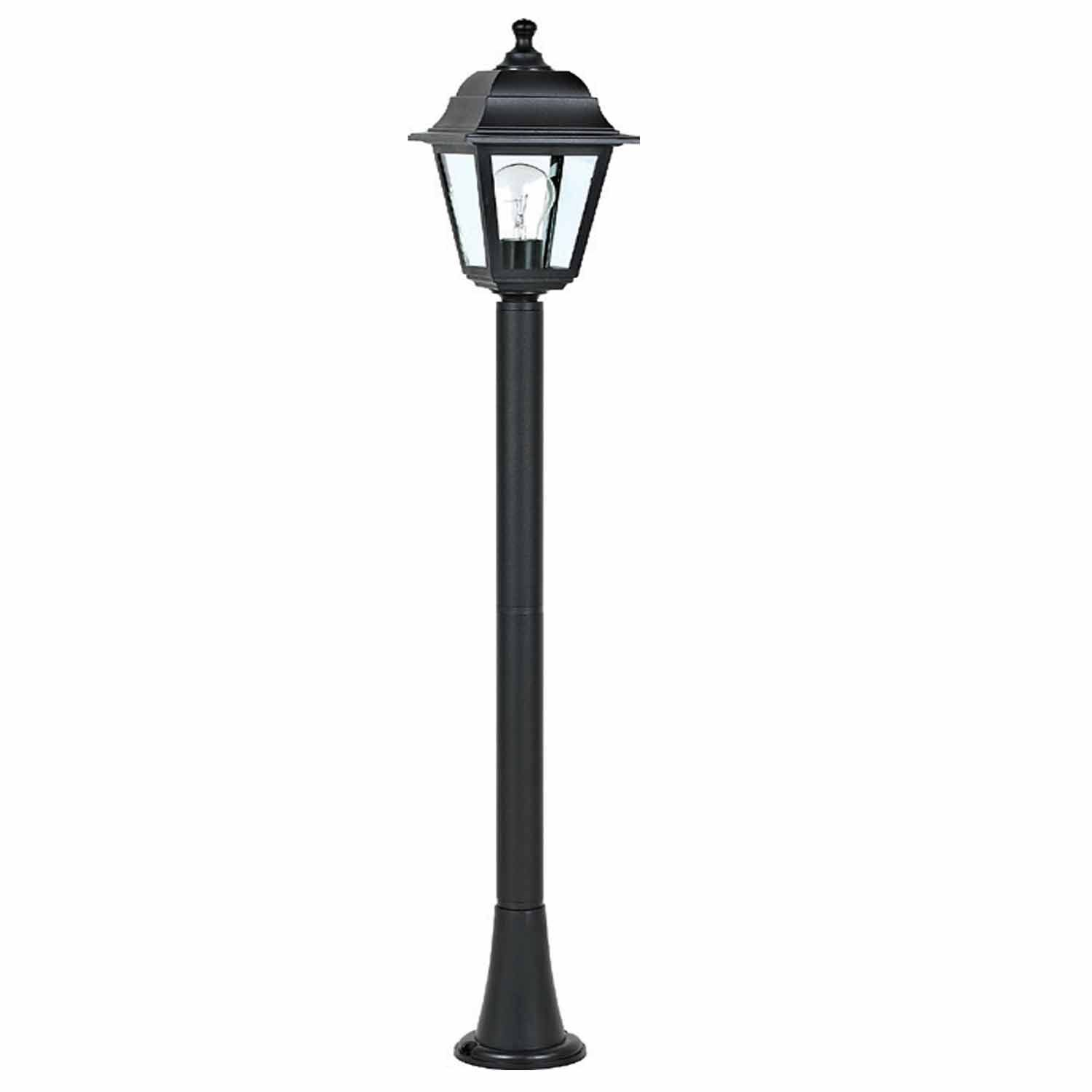 ACA DECOR Big Lantern Black IP44 - STERIXretro