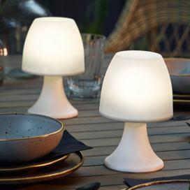 4334c67a5d Stolní lampa z mangového dřeva Orchidea Milano Anna