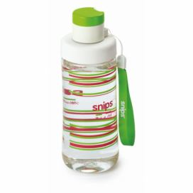 Zelená lahev na vodu Snips Decorated, 500 ml
