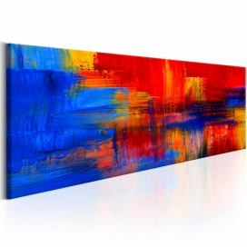 Obraz na plátně Bimago - Colour of Passion 120x40 cm GLIX DECO s.r.o.