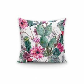 Povlak na polštář Minimalist Cushion Covers Cactus And Roses, 45 x 45 cm