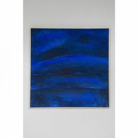 Olejomalba Kare Design Abstract Deep Blue, 80 x 80 cm
