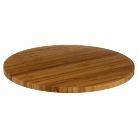 Secret de Gourmet BAMBOO TURNING TRAY 35 x 3 CM