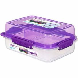 Sistema Lunch Stack Rectangle To Go Purple Online 1.8L  (4)