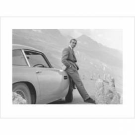 Obraz, Reprodukce - James Bond 007 - Aston Martin, (40 x 40 cm)