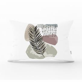 Povlak na polštář Minimalist Cushion Covers Post Modern Leaf, 35 x 55 cm